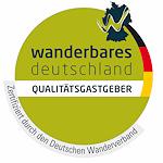 Qualitätssiegel Wanderbares Deutschland